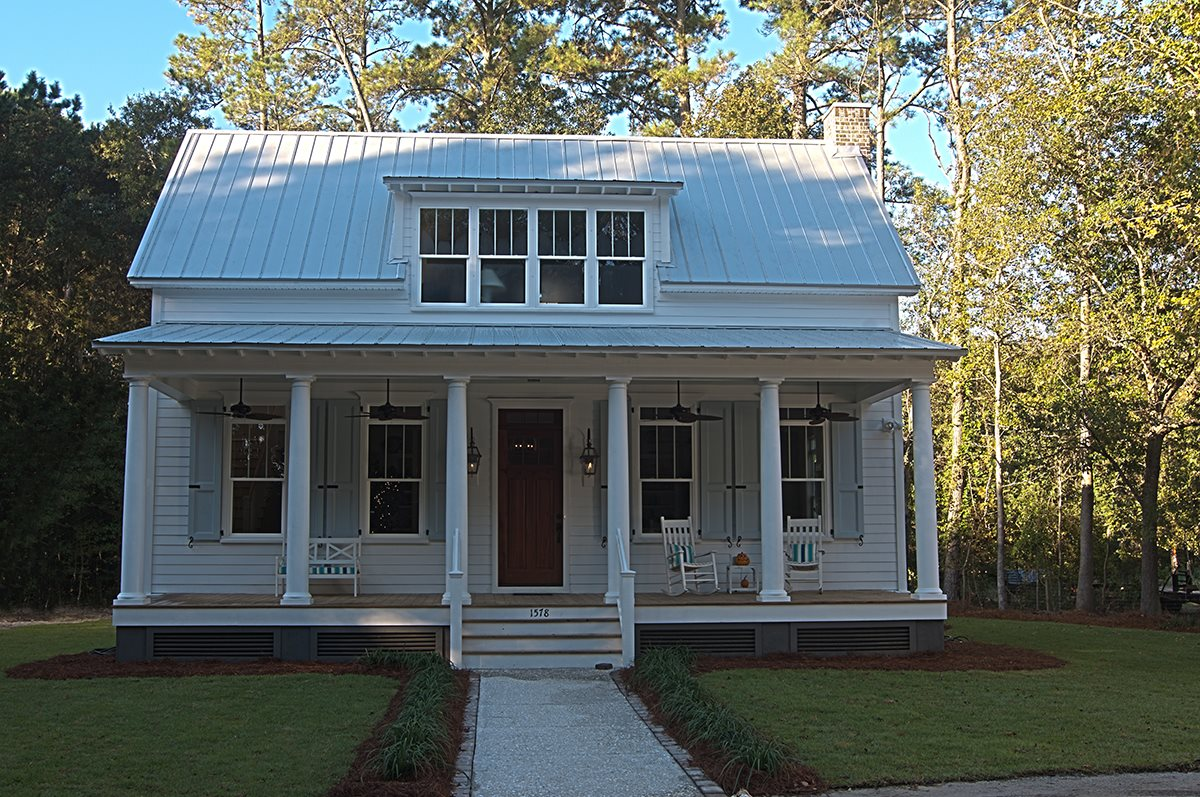 Portfolio jackson construction llc for Low country cottage