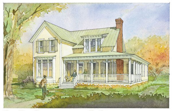Glen View Cottage | Plan SL-1251