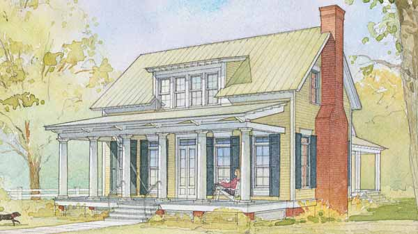 Custom home plans jackson construction llc for Low country floor plans